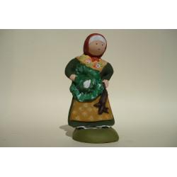 Femme au choux naïve 14cm