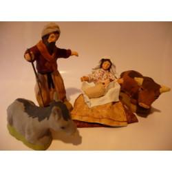 Nativité turban 5 sujets