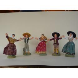 Farandole 5 personnages
